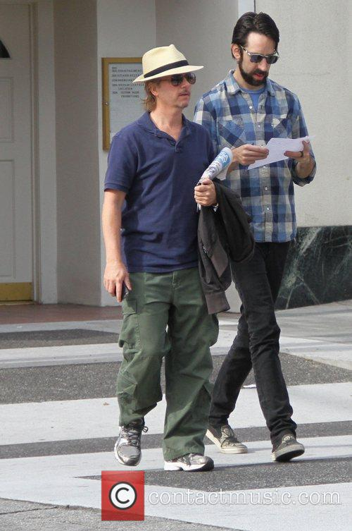 David Spade out and about in Beverly Hills...
