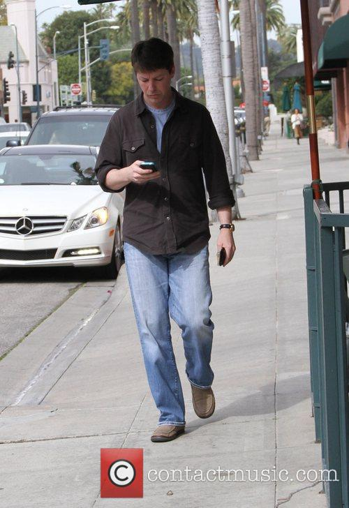 Sean Hayes out and about in Beverly Hills...