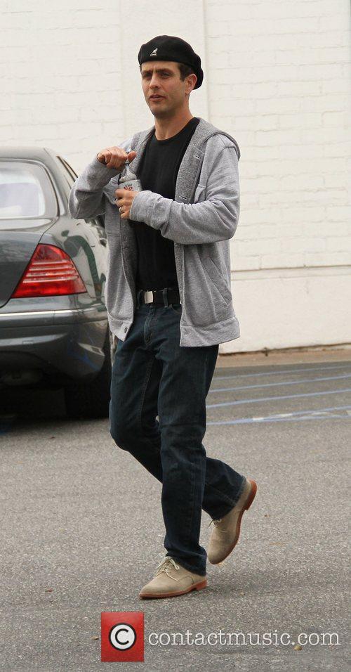 Joey McIntrye seen leaving Bristol Farms in Hollywood...
