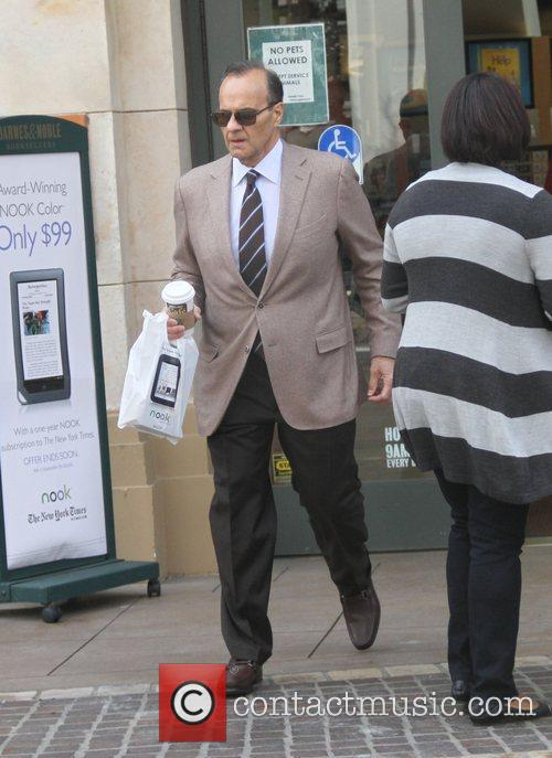 Joe Torre seen shopping at The Grove in...