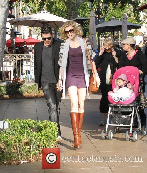 Angel McCord shopping at The Grove Hollywood, California