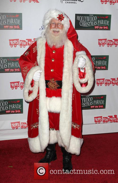 Hollywood Christmas Parade Benefiting, Marine Toys For Tots and Arrivals 2