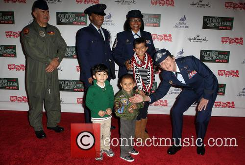 Hollywood Christmas Parade Benefiting, Marine Toys For Tots and Arrivals 10