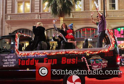 Hollywood Christmas Parade Benefiting, Marine Toys For Tots and Show 5