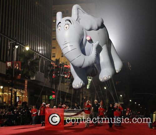 A float, Hollywood Parade