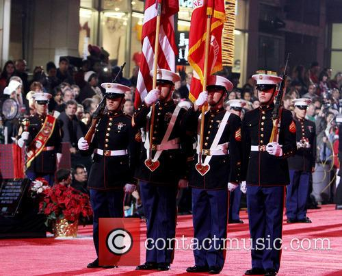 Hollywood Christmas Parade Benefiting, Marine Toys For Tots and Show 34