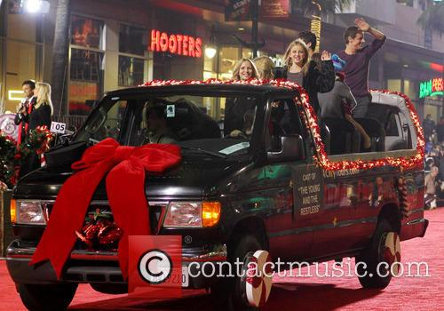 Hollywood Christmas Parade Benefiting, Marine Toys For Tots and Show 14