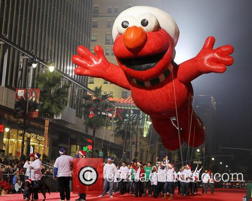 Elmo Float, Hollywood Christmas Parade