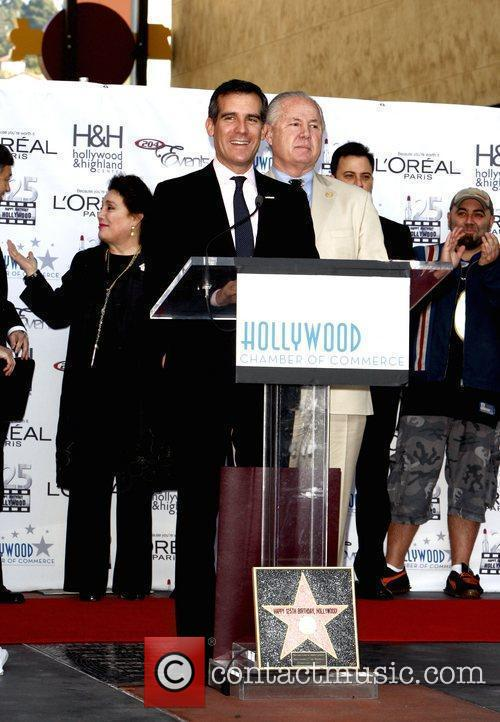 Eric Garcetti  The Hollywood Chamber Of Commerce's...