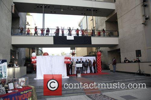 Flash mob  The Hollywood Chamber Of Commerce's...