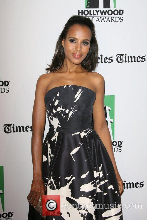 Kerry Washington and Beverly Hilton Hotel 3