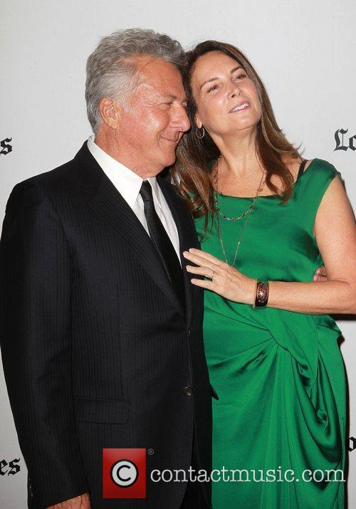 Dustin Hoffman and Lisa Gottsegen 1
