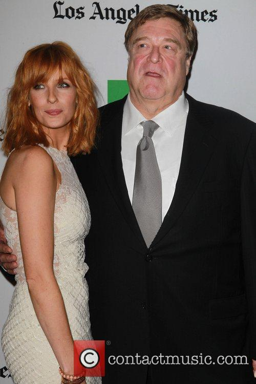 Kelly Reilly, John Goodman and Beverly Hilton Hotel 1