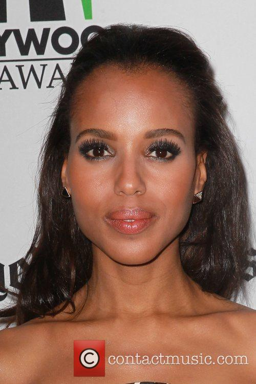 Kerry Washington and Beverly Hilton Hotel 4