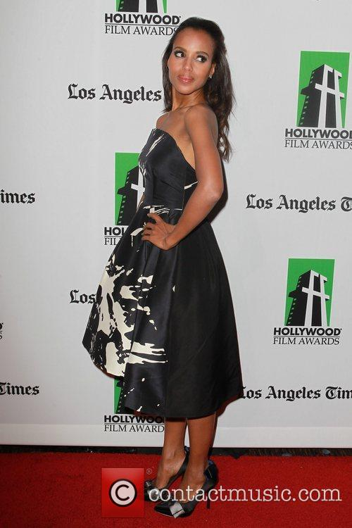 Kerry Washington and Beverly Hilton Hotel 5