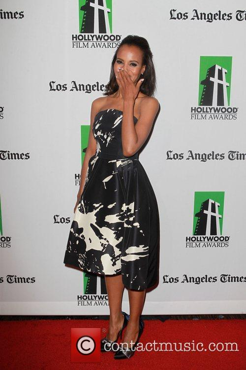 Kerry Washington and Beverly Hilton Hotel 6
