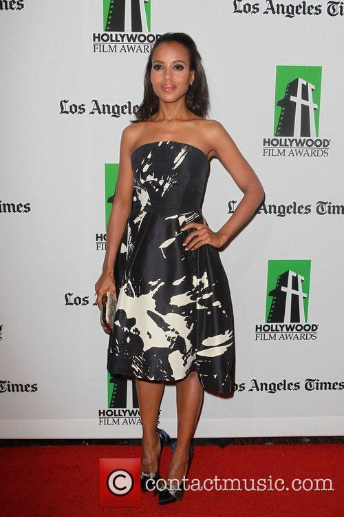 Kerry Washington and Beverly Hilton Hotel 8