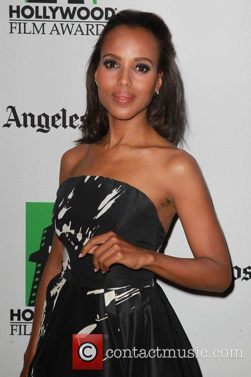 Kerry Washington and Beverly Hilton Hotel 7