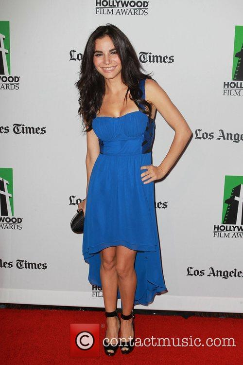 Martha Higareda and Beverly Hilton Hotel 1