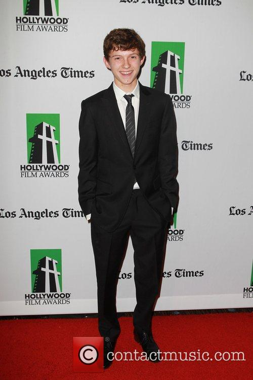 Tom Holland and Beverly Hilton Hotel 2