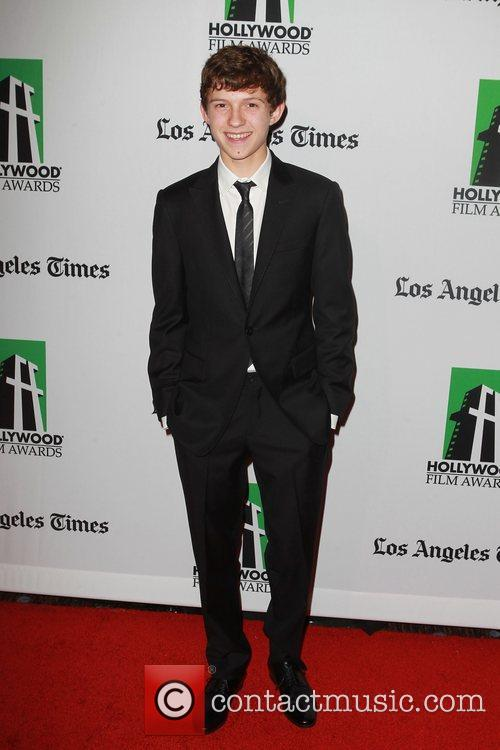 Tom Holland and Beverly Hilton Hotel 1