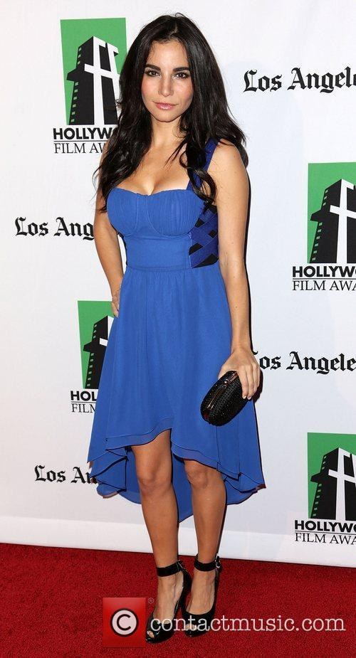 Martha Higareda and Beverly Hilton Hotel 5