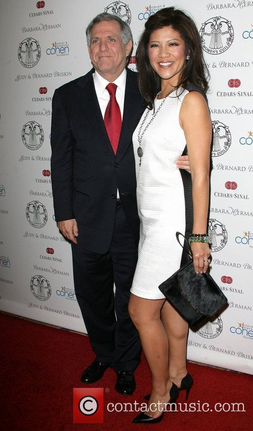 Julie Chen and her husband Leslie Moonves Women's...
