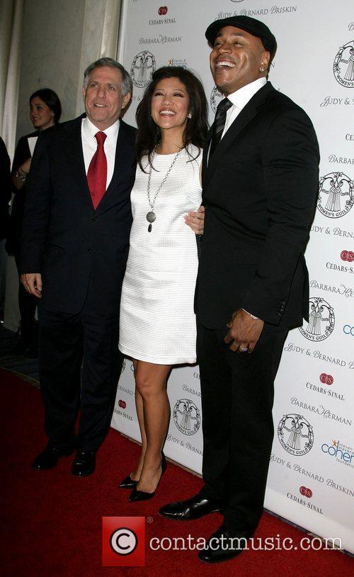 Cool J, Julie Chen and Leslie Moonves 8
