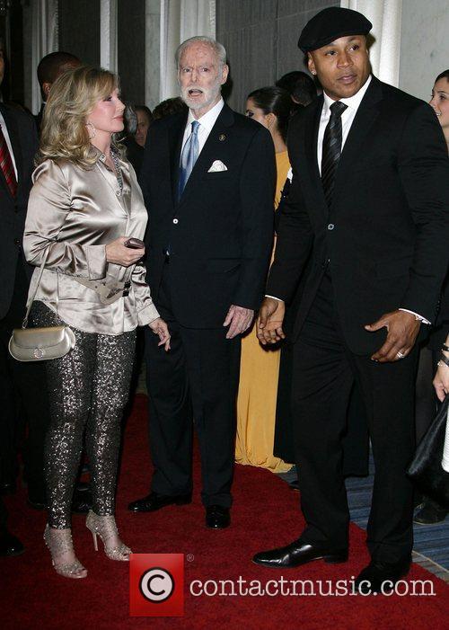 LL Cool J, Morgan Fairchild and Leonard Goldberg...
