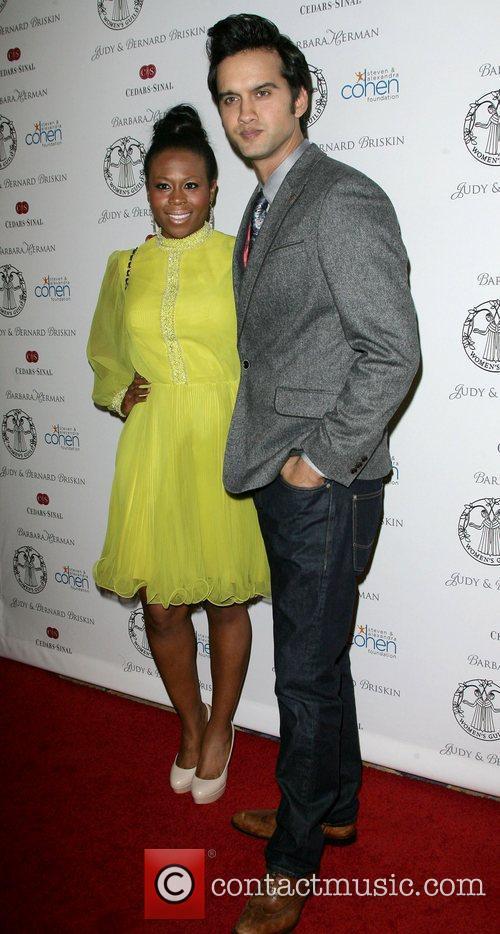Michael Steger and wife Brandee Tucker Women's Guild...