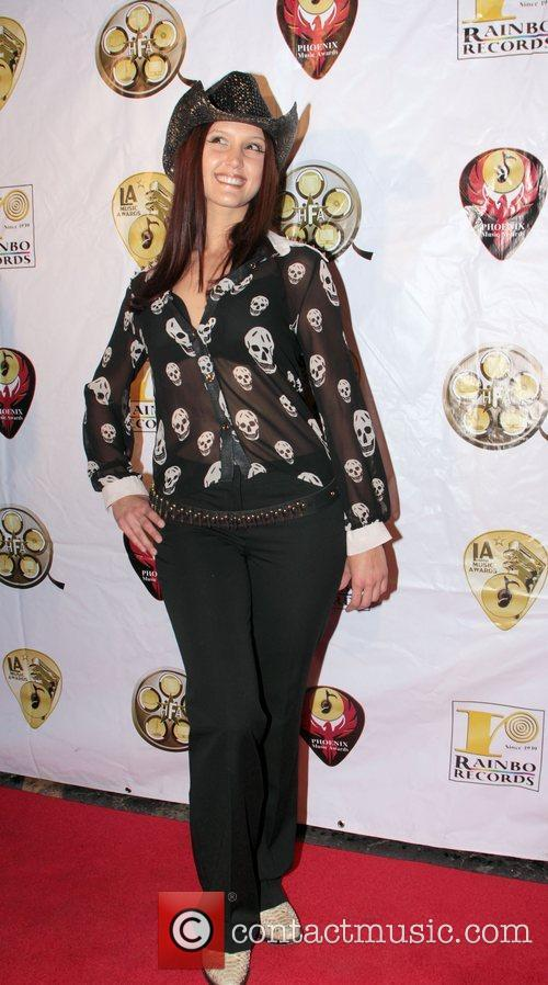 Glitter Rose Attends the Hollywood Music Awards at...