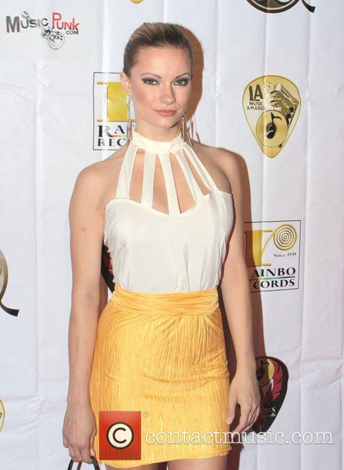 Katelyn O Conner Attends the Hollywood Music Awards...