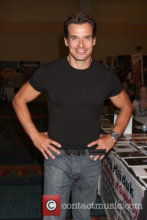 Antonio Sabato Jr at the 'Hollywood Show' held...