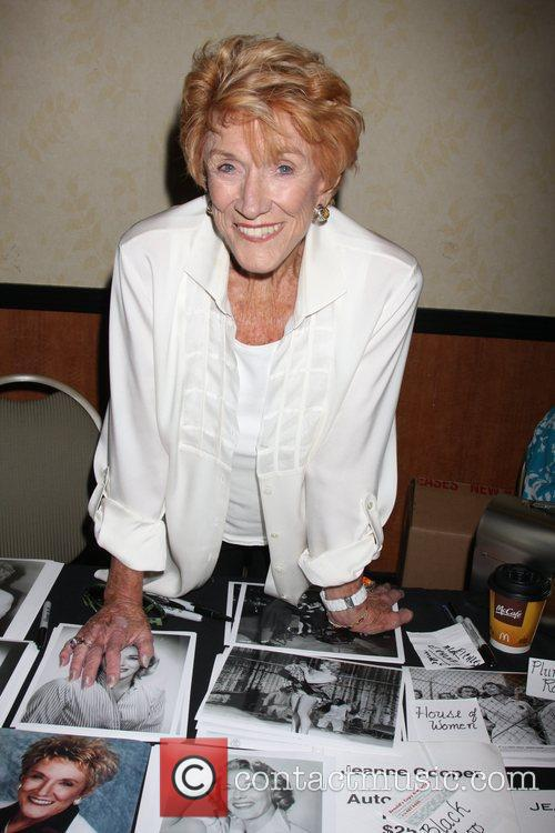 Jeanne Cooper at the 'Hollywood Show' held at...