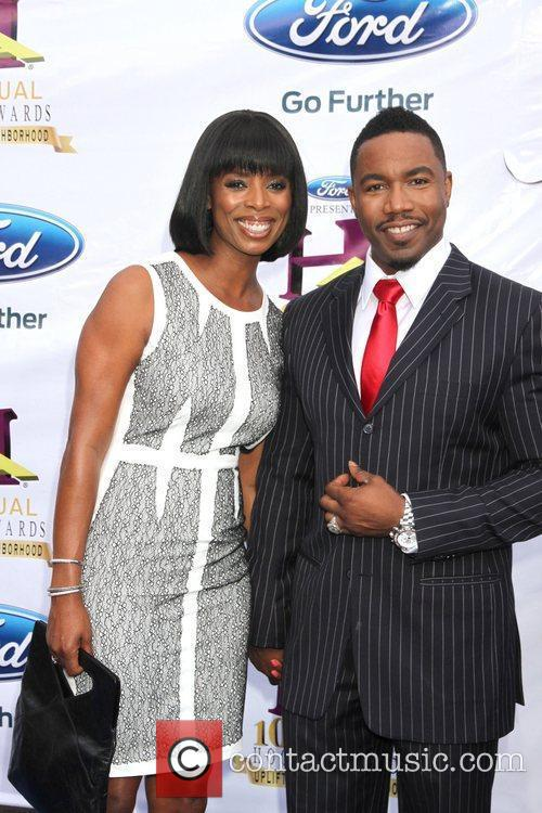 Tasha Smith and Michael Jai White 7