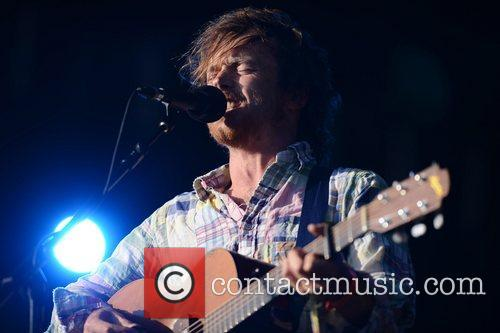Damien Rice performing live at the Hop Farm...