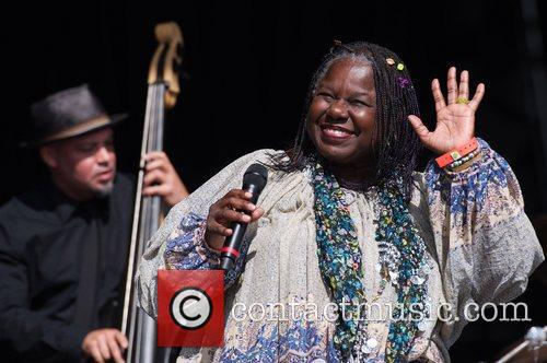 Randy Crawford performing live at the Hop Farm...