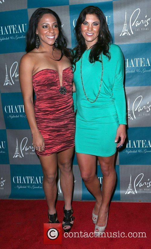 Sydney Leroux and Hope Solo 2