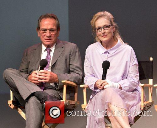 Tommy Lee Jones and Meryl Streep 8