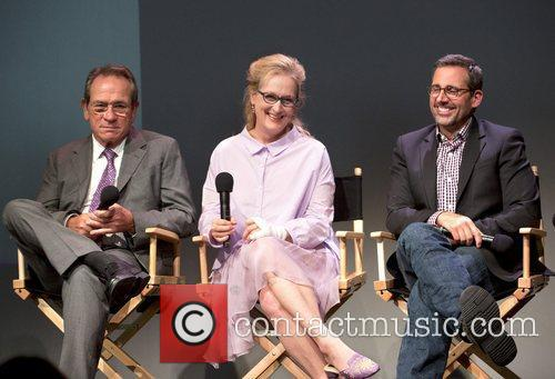 Tommy Lee Jones, Meryl Streep and Steve Carell 2