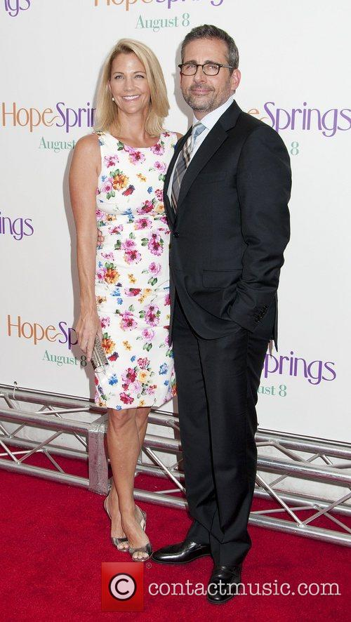 Steve Carell Premiere of 'Hope Springs' at the...