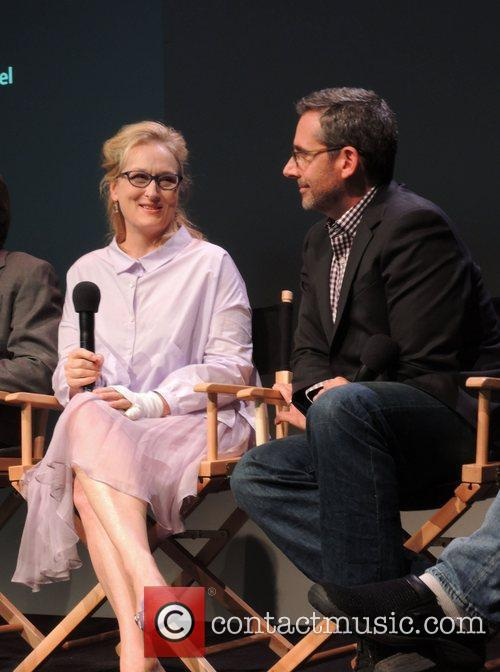 Meryl Streep and Steve Carell 6