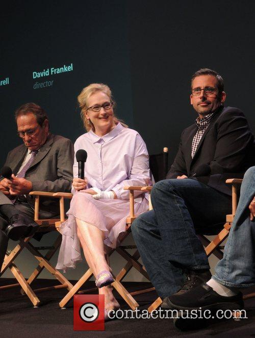 Tommy Lee Jones, Meryl Streep and Steve Carell 3