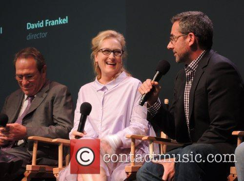 Tommy Lee Jones, Meryl Streep and Steve Carell 5