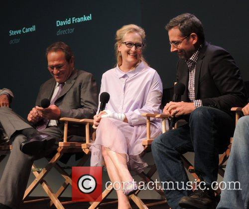 Tommy Lee Jones, Meryl Streep and Steve Carell 1