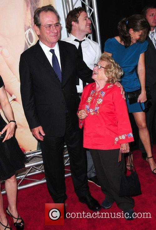 Tommy Lee Jones and Ruth Westheimer New York...
