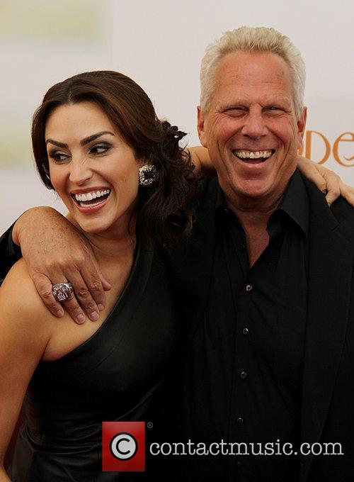 Nicole Butler and Steve Tisch Premiere of 'Hope...