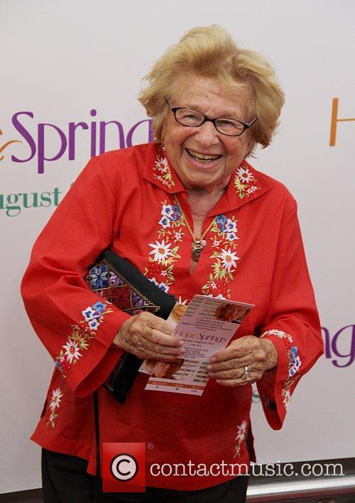 Ruth Westheimer Premiere of 'Hope Springs' at the...