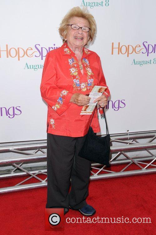 Ruth Westheimer  New York Premiere of 'Hope...