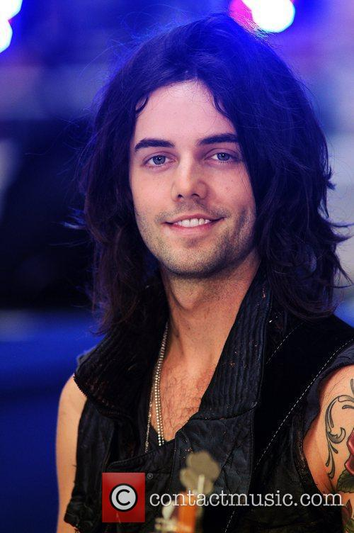 Ian Keaggy Hot Chelle Rae performs at the...